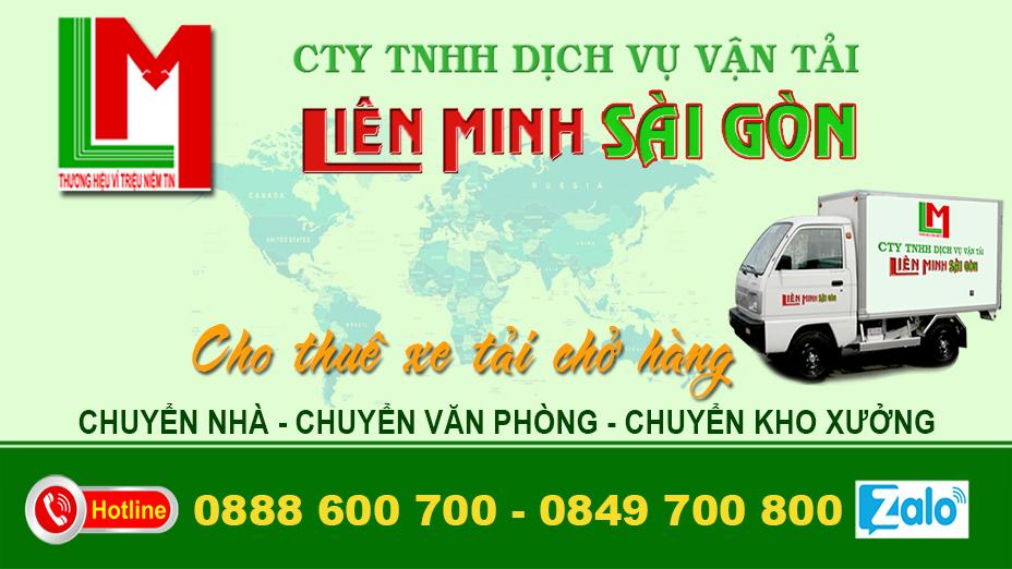 Chuyển nhà, văn phòng trọn gói Liên Minh Sài Gòn