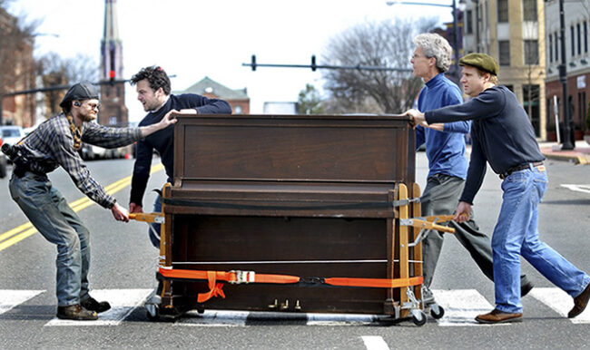 Dịch vụ chuyển đàn piano chuyên nghiệp giá rẻ