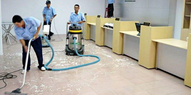 Dịch vụ vệ sinh đánh bóng sàn