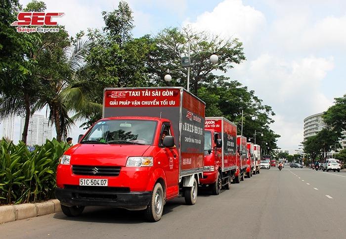 Chuyển nhà, văn phòng trọn gói Taxi Tải Sài Gòn