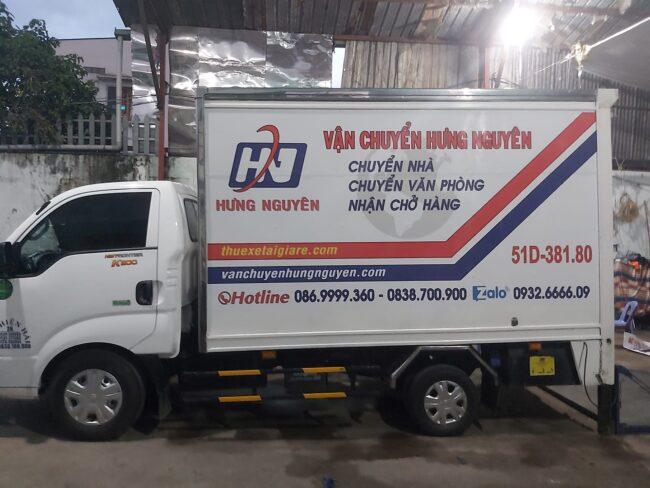 Cho thuê xe tải chở hàng Hưng Nguyên
