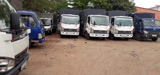 Cho thuê xe tải chở hàng liên tỉnh