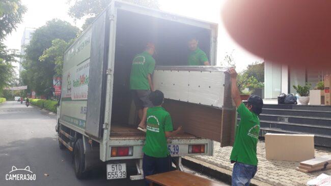 Cho thuê xe tải chuyển văn phòng