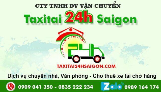 Taxi Tải 24H - Chuyển nhà 24h Sài Gòn
