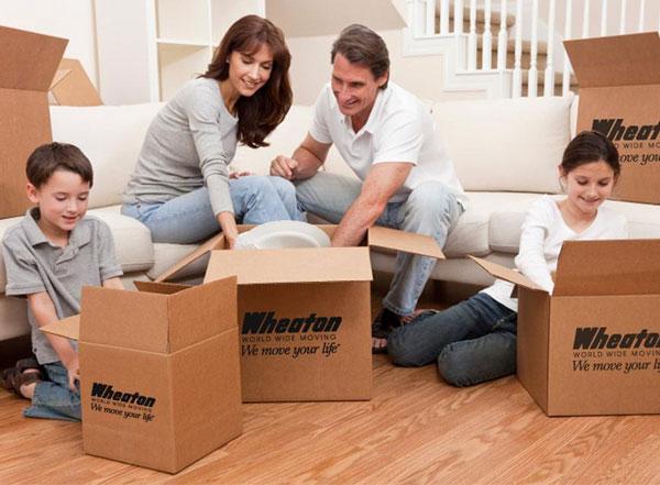 Thùng đóng gói chuyển nhà chuyên nghiệp
