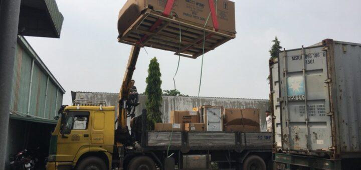 Cho thuê xe cẩu hàng 15 tấn