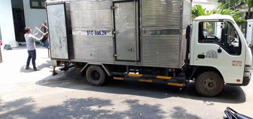 Cho thuê xe tải chở hàng 2 tấn thùng dài 4m3