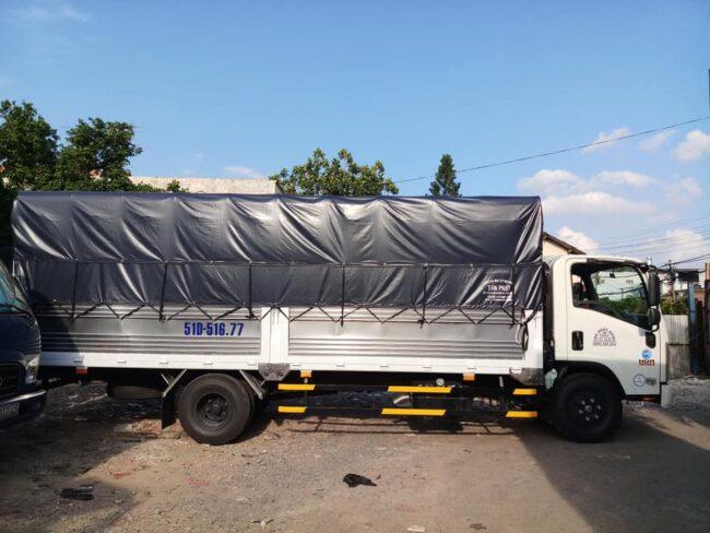 Cho thuê xe tải 5 tấn chở hàng hóa