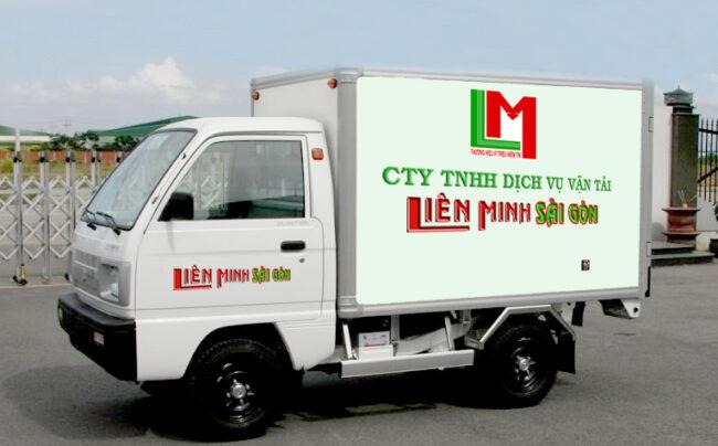 Xe tải chở hàng Liên Minh